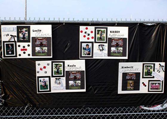 Soccer Senior Night Poster Ideas