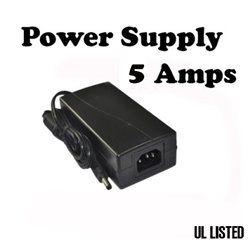 12V 5A Power supply for Strip UL