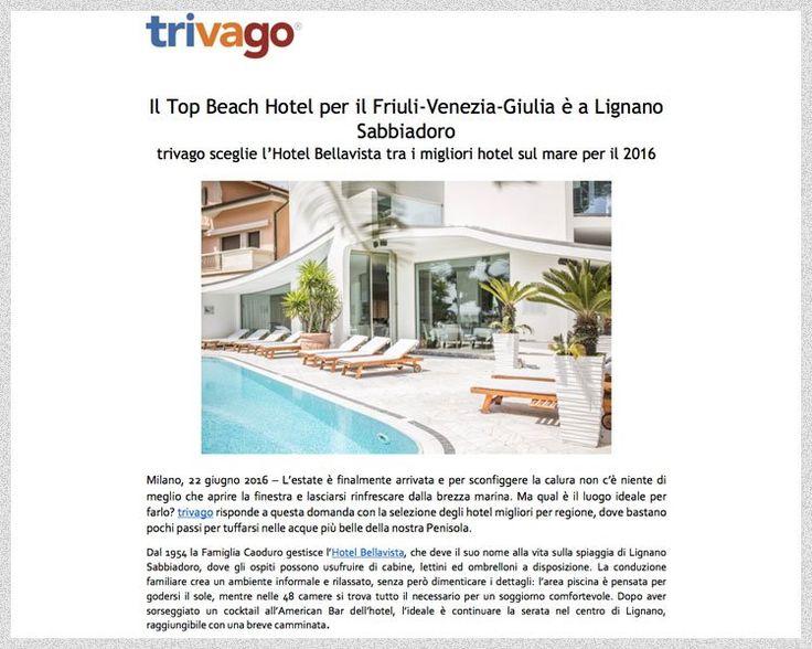 Hotel Lignano Sabbiadoro - Bellavista - Fronte mare con piscina, uno tra gli alberghi storici