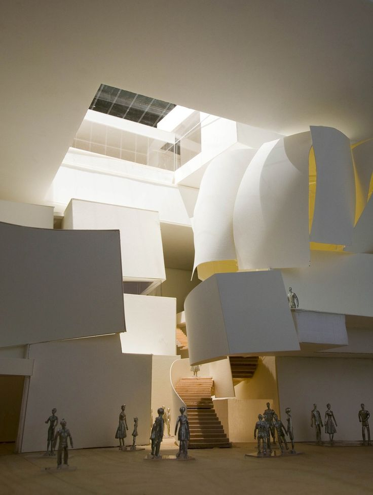 Maqueta del CityCenter People Mover Las Vegas - Nevada | Frank Gehry