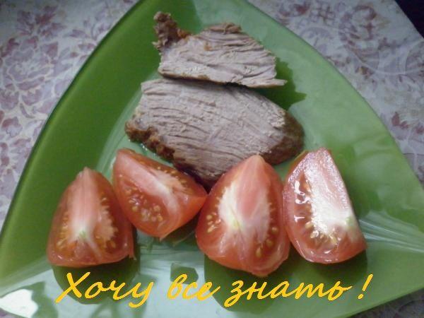 Мясо, запечённое в фольге в мультиварке.
