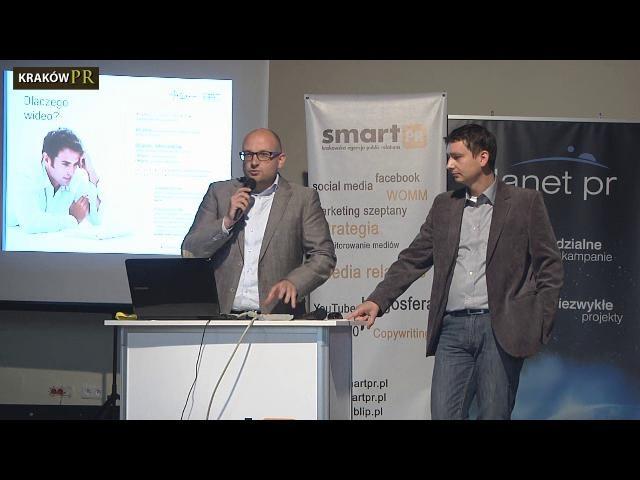 """Konferencja """"Najnowsze trendy w e-PR, czyli e-commerce w social media"""" jako członek KrakówPR byliśmy współorganizatorem i prelegentem konferencji."""