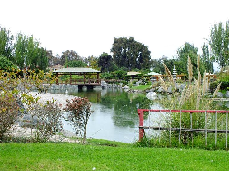 "Parque Japonés ""Kokoro No Niwa"""