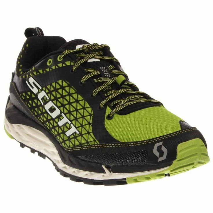 Scott 2015 MEn's T2 Kinabalu HS Trail Running Shoe - 237812 (Black/Green -