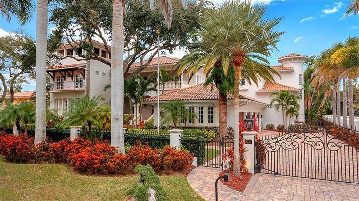 Tampa Bay Million Dollar Homes 6,999,999 6bd 7.5ba 8