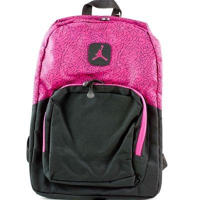 ebdb094166dfd1 ... Nike Air Jordan Pink Fireberry School Backpack Book Bag