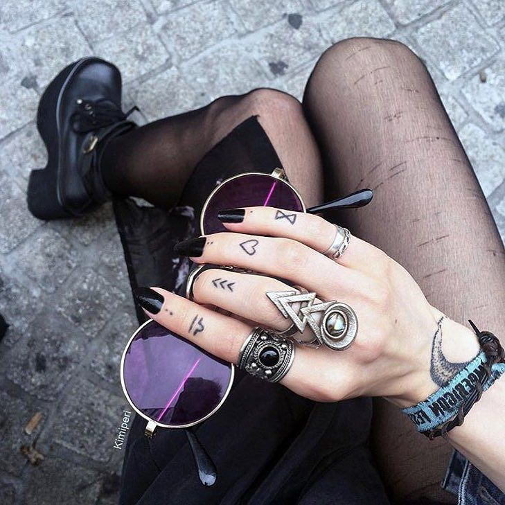 Great pic from the beautiful @kimiperi wearing one of our Tibetan Rings ॐ www.ohmboho.com ॐ by ohmboho
