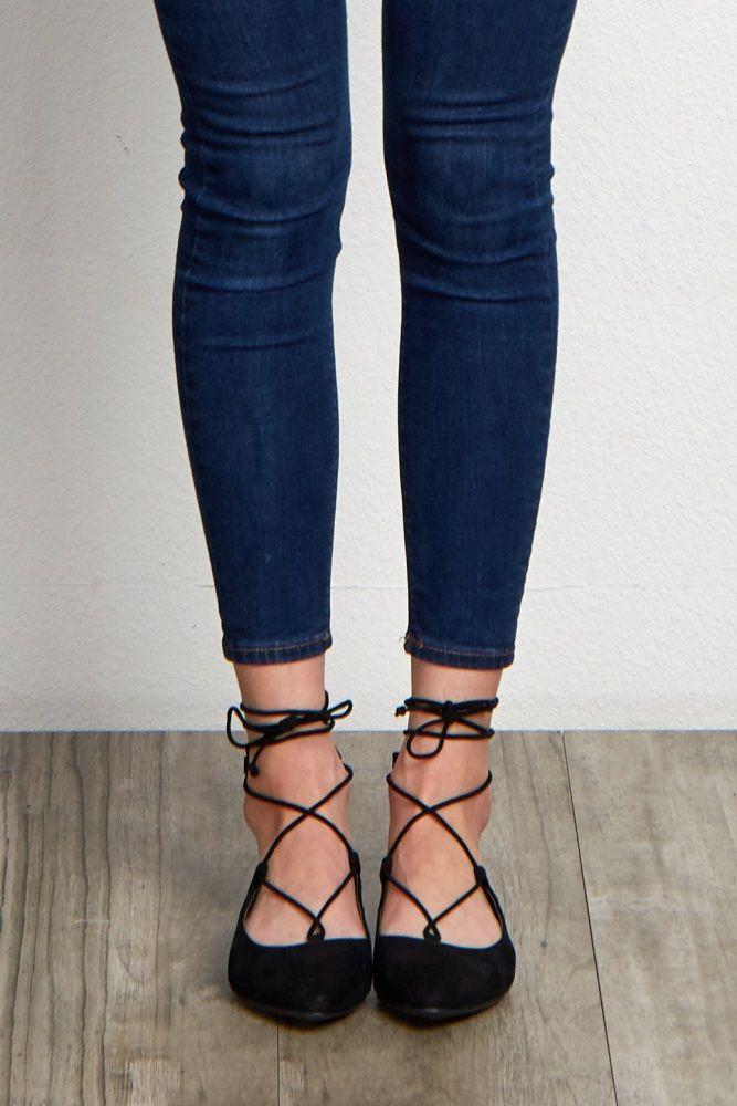 Stitchfix: would love a pair of lace up flats but with a round toe