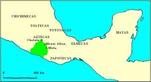 Resultado de imagen para ubicacion geograficas de mayas y aztecas