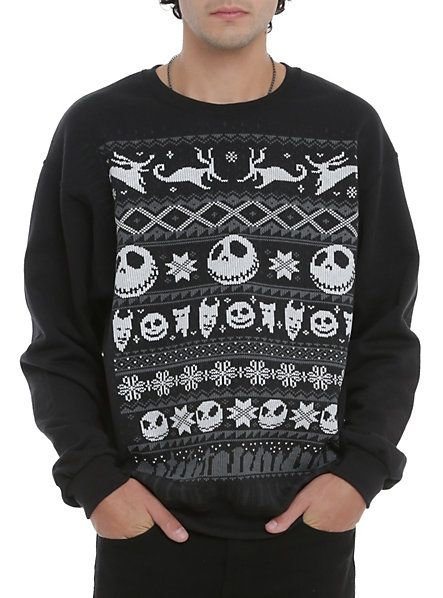 Best 25+ Nightmare before christmas sweater ideas on Pinterest ...