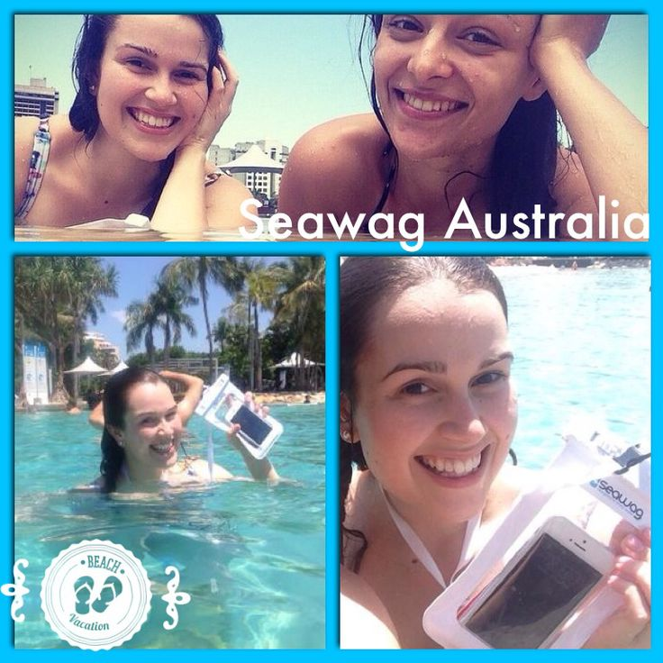 Smiles..summer..photos.. That's what we represent :) Go team Seawag..