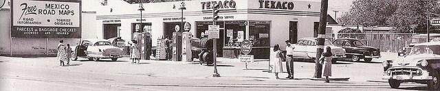 Texaco Service Station (ca.1953)