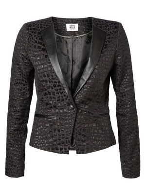 MARONE MAI LS BLAZER MODA Holiday Countdown contest.  Pin to win the style!