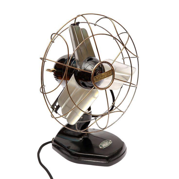 Wentylator Marelli, Włochy, lata 40.   Marelli ventillator, Italy, 40s.   buy on Patyna.pl #Marelli #ventilator #air #Italy #Italian #40s #1940s #decor #gadget #retro #vintage #Lata60te
