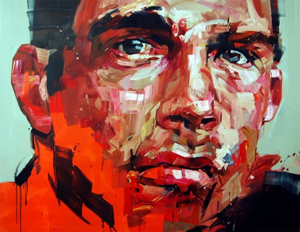One of my favorite portrait artists, Andrew Salgado (previously) who lives and works in London has completed a number of new works in advance of his second solo show, The Misanthrope, which opens at Beers.Lambert on October 11, 2012. You can see see much more of his recent work on his