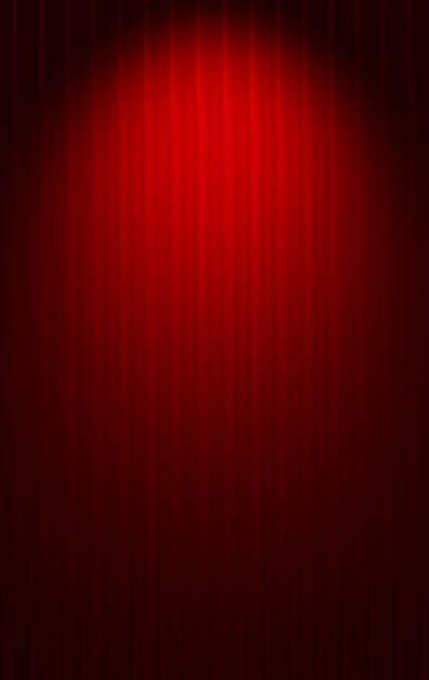 red background gradient horizontal stripes