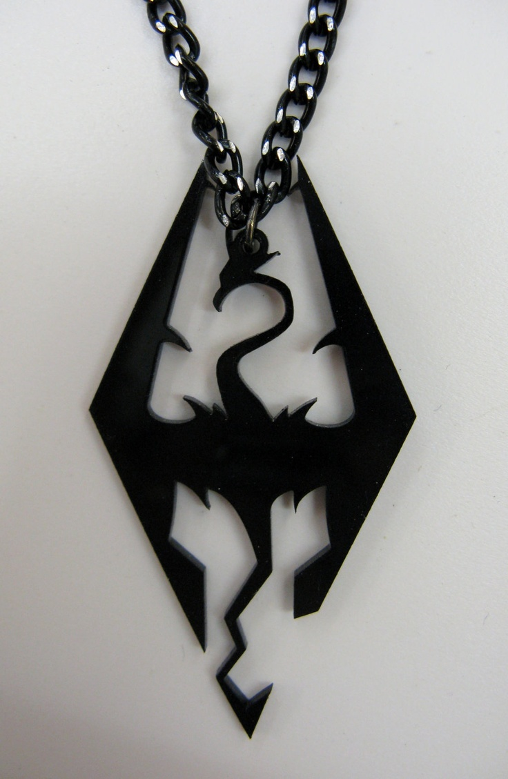 So, holy crap I might need to get one of these Skyrim necklaces.