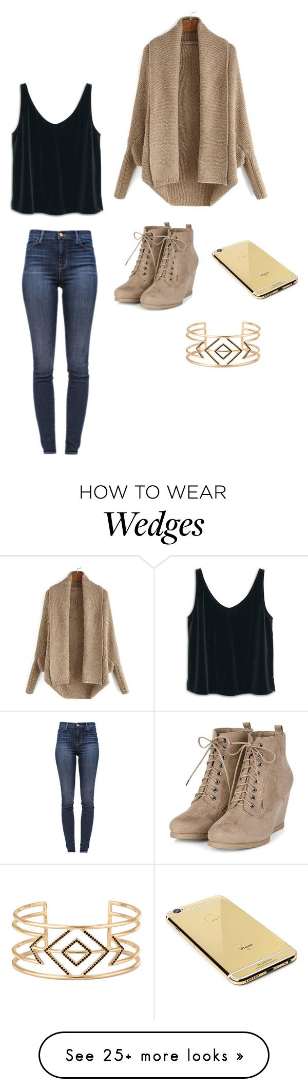 """Day"" by clairebear89 on Polyvore featuring MANGO, J Brand, Goldgenie and Stella & Dot"