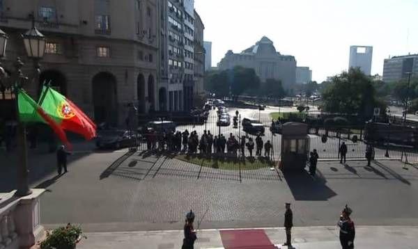El presidente Mauricio Macri recibió al Primer Ministro de Portugal, Antonio Costa