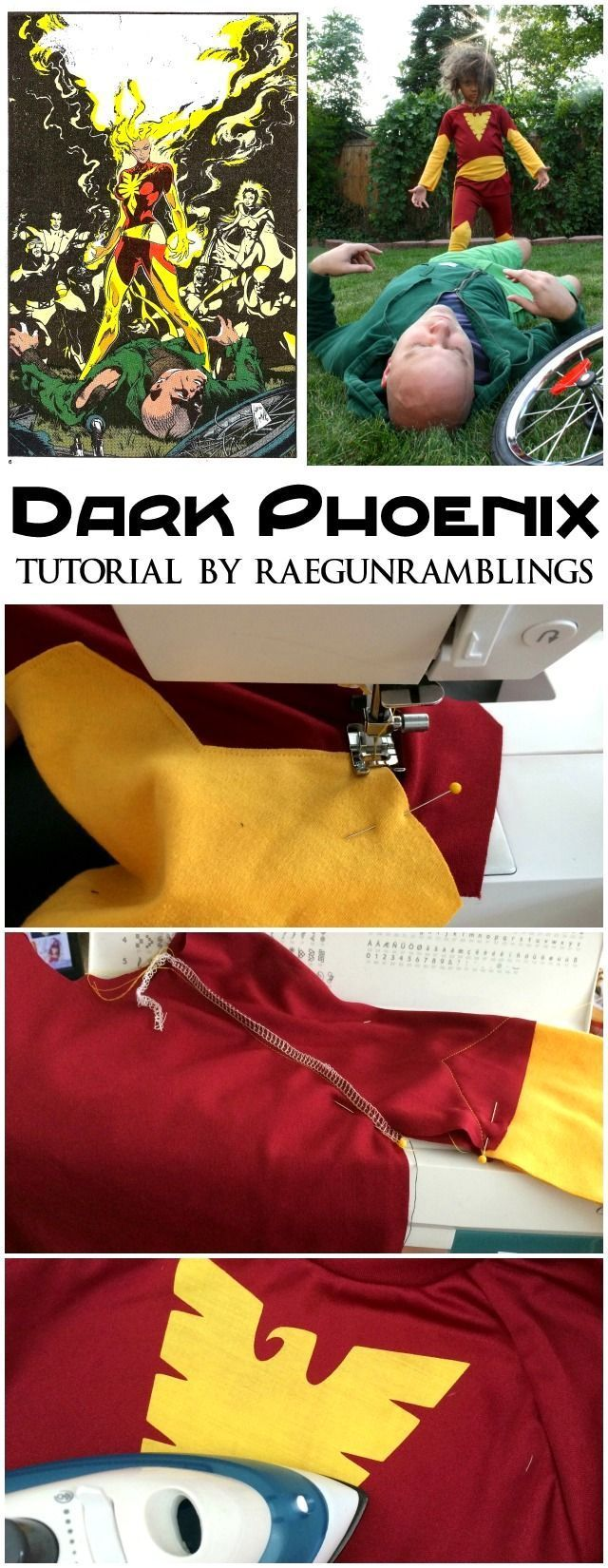 Dark Phoenix Costume - Rae Gun Ramblings                                                                                                                                                                                 More