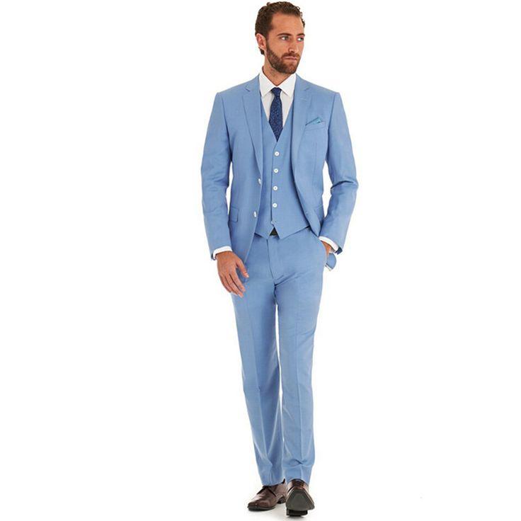 Best 25  Light blue suit wedding ideas on Pinterest