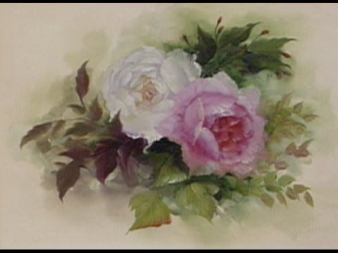 The Beauty of Oil Painting Series 1, Episode 5: English Roses - YouTube