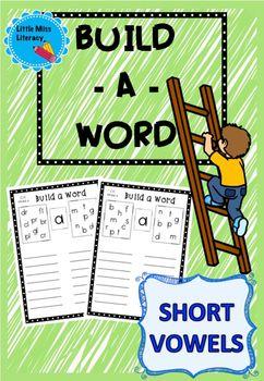 Build A Word - Short Vowels