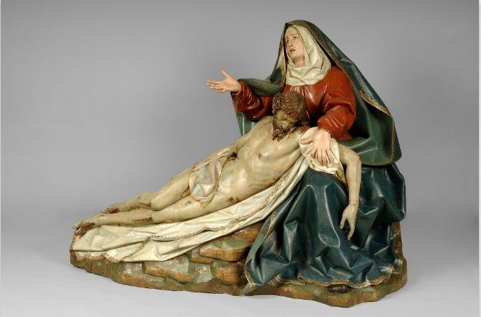 1616 - Paso de la Sexta Angustia ó Pietá - Gregorio Fernández - Madera policromada - Museo Nacional de Escultura Valladolid