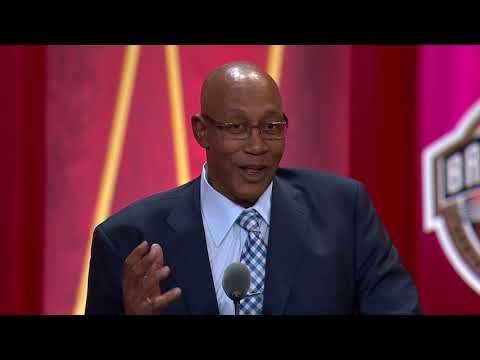George McGinnis' Hall of Fame Enshrinement Speech - YouTube
