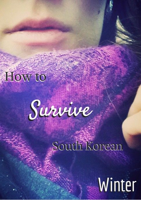 Everything you need to know about not freezing your ass off whilst living  in Korea.