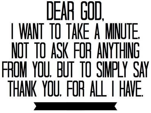 Thank You Prayer                                                                                                                                                                                 More