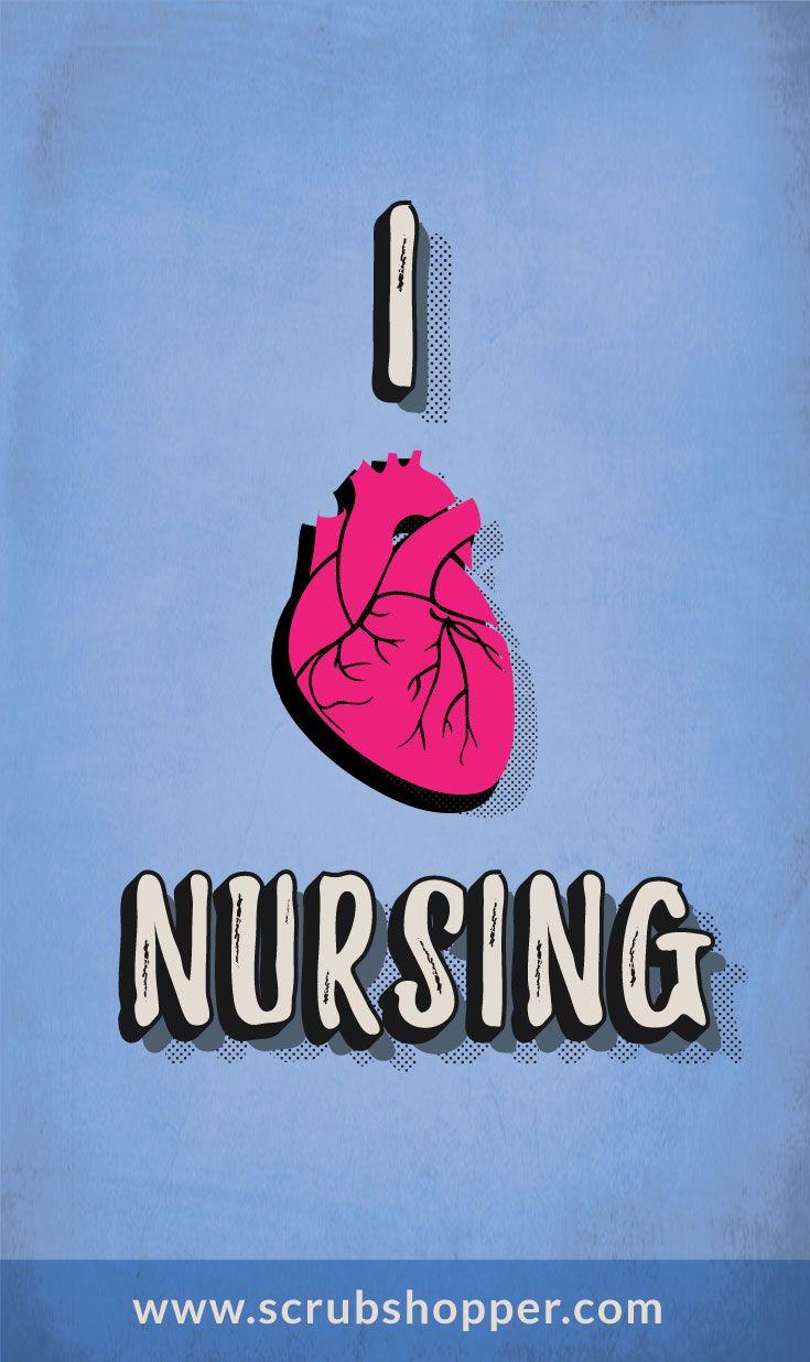 I Love Nursing 21 best Scrub Shopper