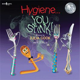 Hygiene...You Stink! by Julia Cook will help you teach kids the need for personal hygiene in a fun playful way. I boystownpress.org