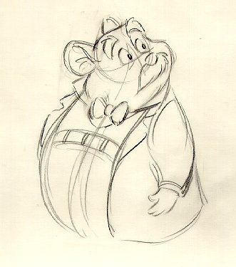 Dr. David Q. Dawson, from The Great Mouse Detective. One of my favorite Watsons! Even though his last name isn't Watson it sort of works out, because they live underneath Holmes and Watson.