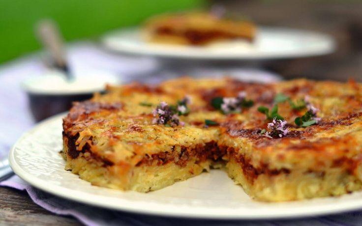 Tarkuotų bulvių apkepas su mėsa - Receptai | Patiekalai | SkanusReceptai.lt