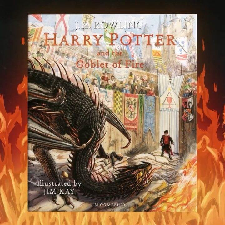 Livre La Coupe De Feu Illustre Video Potterhead In 2019