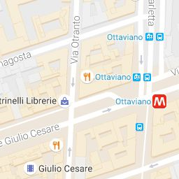 Modern Apartment in Rome for rent at St.Peter's - local area map
