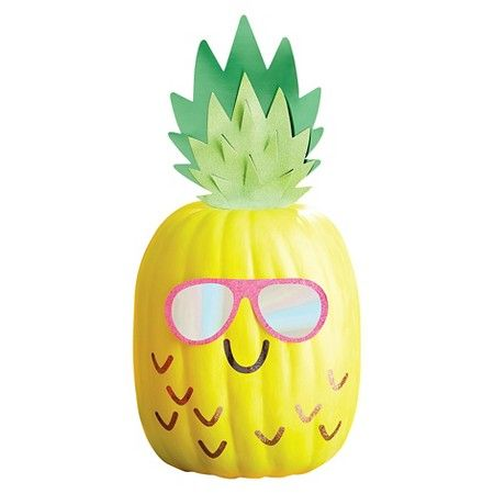 halloween pineapple pumpkin decorating kit spritz