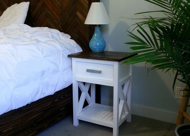 Modern nightstand woodworking plans woodworking projects plans solutioingenieria Image collections