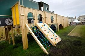 Play Area at The Great Western Hotel, Newquay
