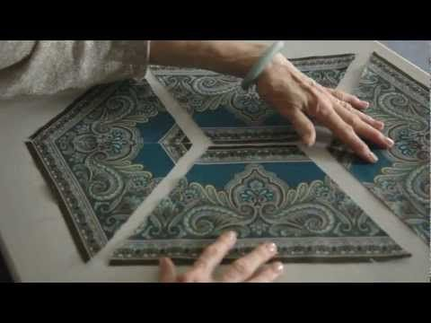 ~ Jinny Beyer Border Print Place Mats & Table Runner