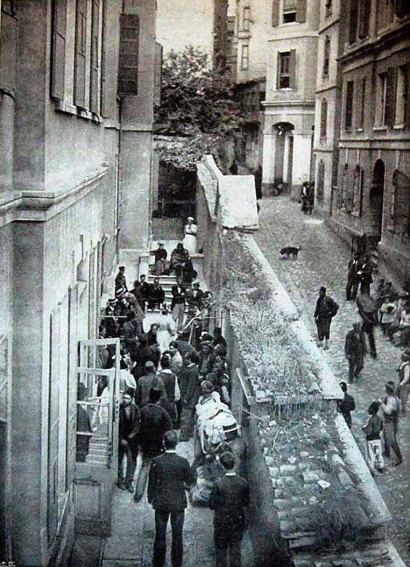 1896. Το βρετανικό προξενείο, Κωνσταντινούπολη - The British Consulate, Constantinople
