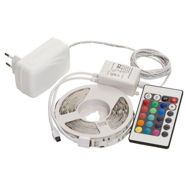 LED lyslist Flex 4 m RGB - Annen innendørsbelysning - Rusta