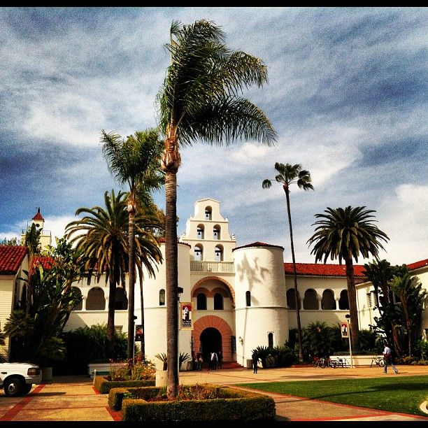 Let's give it up for colleges and universities always active with sports and events! Here's our hometown campus San Diego State University. Go Aztecs! #universities #colleges