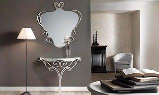 consolle e specchiera LARA ferro battuto http://stores.ebay.it/massaricasa-shop