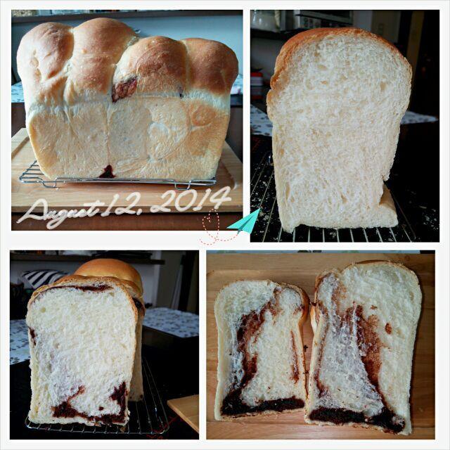 片側は普通の食パンで、 もぅ片側はミルクココアクリームを巻いてみた♪ だもんで、ダブルフェイス~((o( ̄ー ̄)o))(笑)  今日はぉtama式ぉ急ぎ短時間発酵で作ったからちょいと生地がダレ気味でだったけどまぁ~美味しくできたからよしとしよぉ~♪ヽ(´▽`)/(笑) - 78件のもぐもぐ - 本日のぉtamaパン♪自家製ヨーグルト酵母の食パン♪ダブルフェイス~♪ヽ(´▽`)/ by ♡tama♡