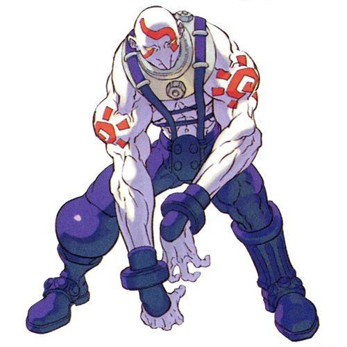 Necro - Characters & Art - Street Fighter III