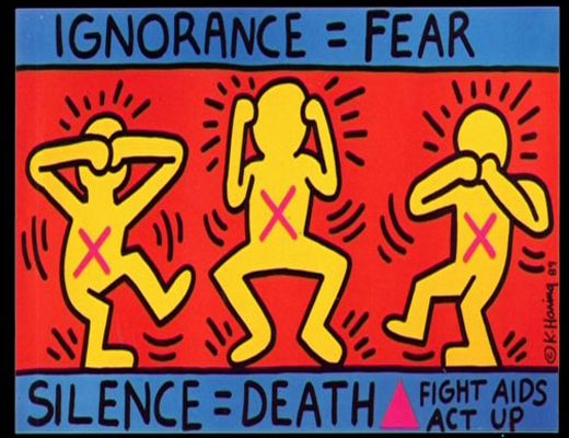 Wake up and fight aids; Keith Haring for Act Up