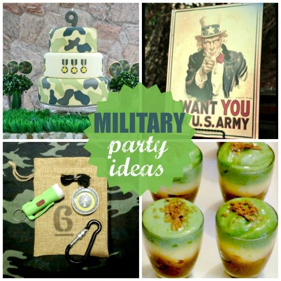 109 best Military Party Ideas images on Pinterest