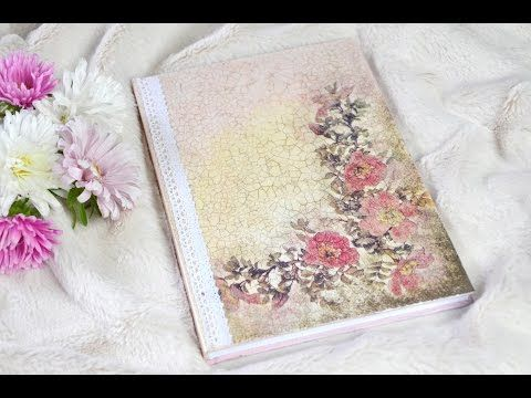 Integración Decoupage // Diary decoration - YouTube